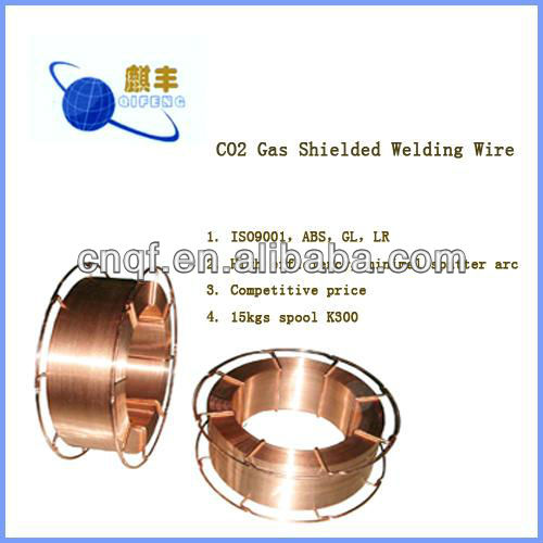 CO2 gas shielded welding wire 1.2mm manufacture company