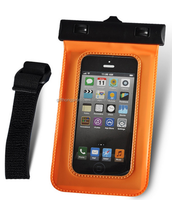 protective cover case underwater pvc waterproof phone bag with earphone and armband