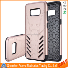 2017 Newest Arrive Dual Layer Hybrid Armor Shockproof Defender Protective case For Samsung Galaxy S8