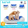 Wholesale pet accessories handmade memory large bed luxury pet dog bed