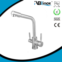 ABL 3-way stainless steel faucet factory water purifier faucet