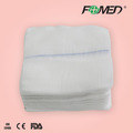 Medical absorbent gauze swabs with different size