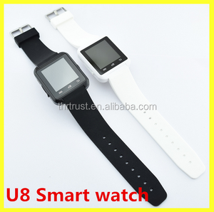 2016 Hot U8 Factory cheap Price Promotion Gift Bluetooth smart Watch For Android Hands Free Call Smart Watch