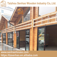 Customized design simple villa house elevation designs professional shopping wooden