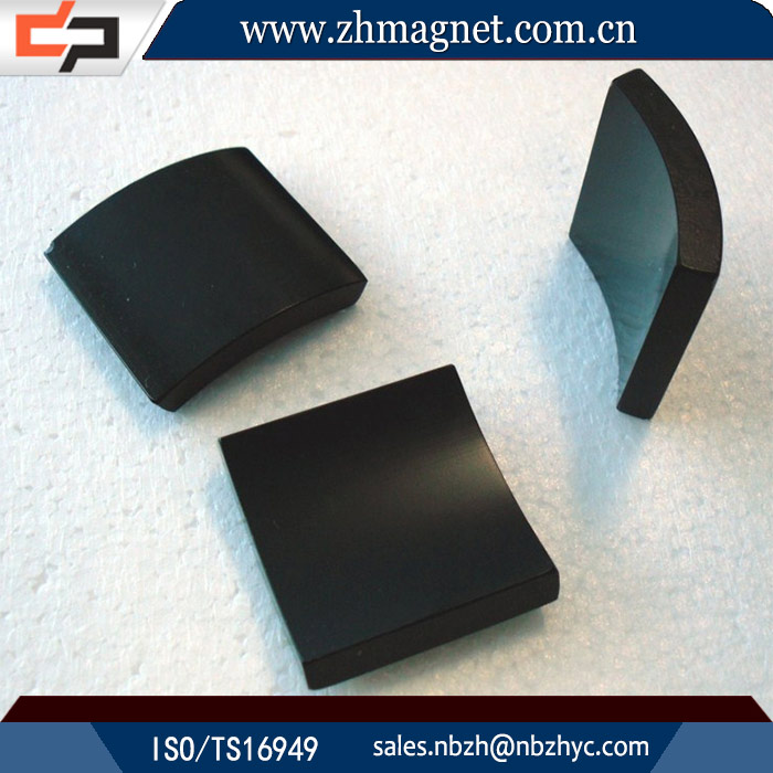 China sale factory price arc magnets with ni/zn/poxy/treatment