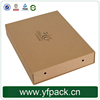 China Supplier Cheap Wholesale Logo Hot Stamping Folded Kraft Paper Box