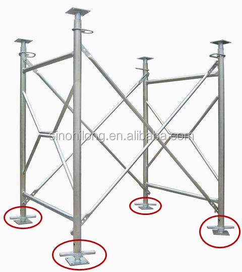 construction support accessory adjustable scaffolding