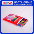 12pcs wholesale plastic jumbo color pencil