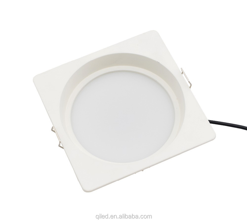 5inch 12w square SMD2835 led recessed downlight