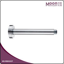 bathroom accessory standard brass shower arm with round flange chrome MA-RB002CP