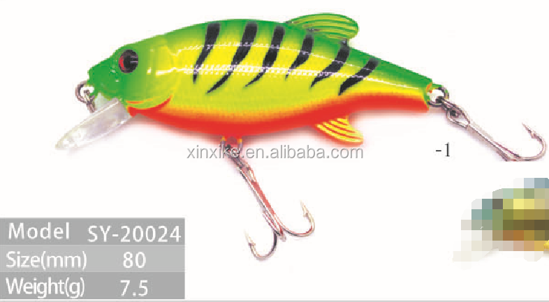 High Quality Minnow Plastic Bead Fishing Lure