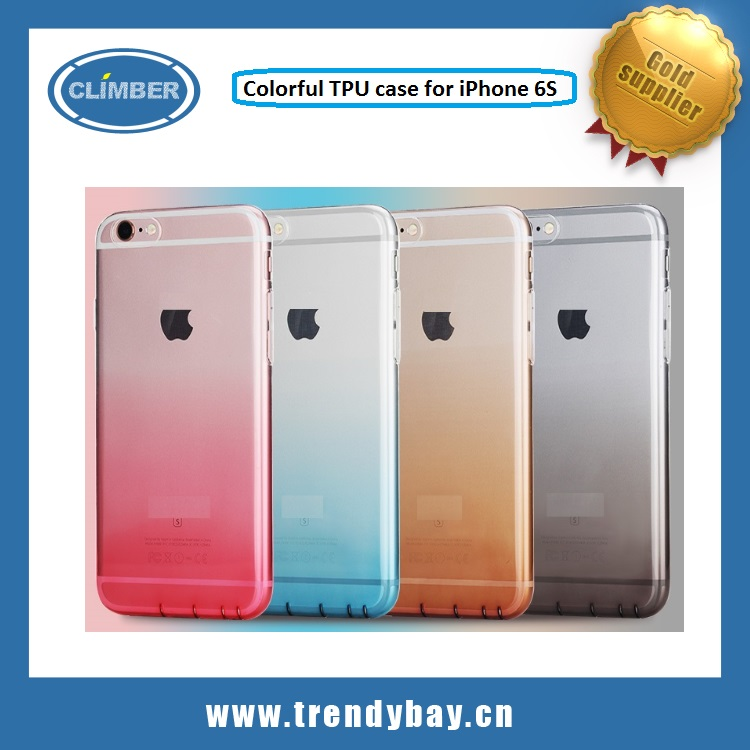 Rock brand TPU cover case for iphone 6s plus case