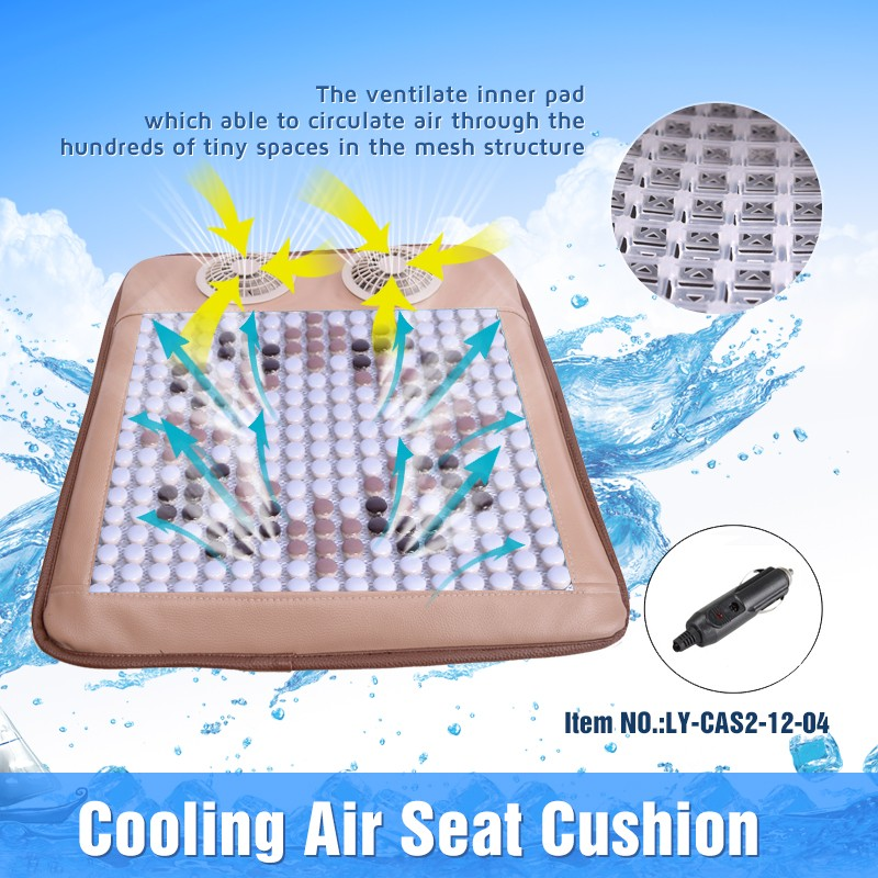 Ceramics mat Top quality competitive price summer cooling fan seat cusion