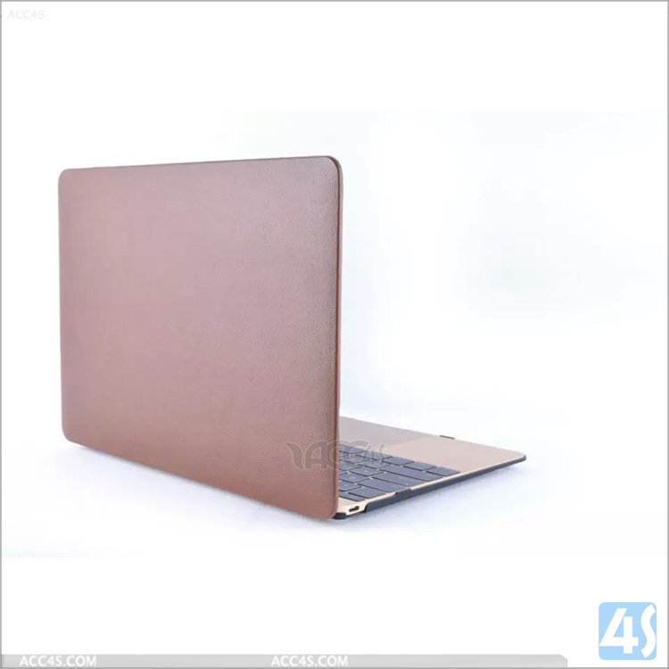 In Stock PC & PU Leather Shell Case for Macbook Air 13, For Mac Book Air 13 Case, PC&PU Shell Case for Macbook 13/15/12