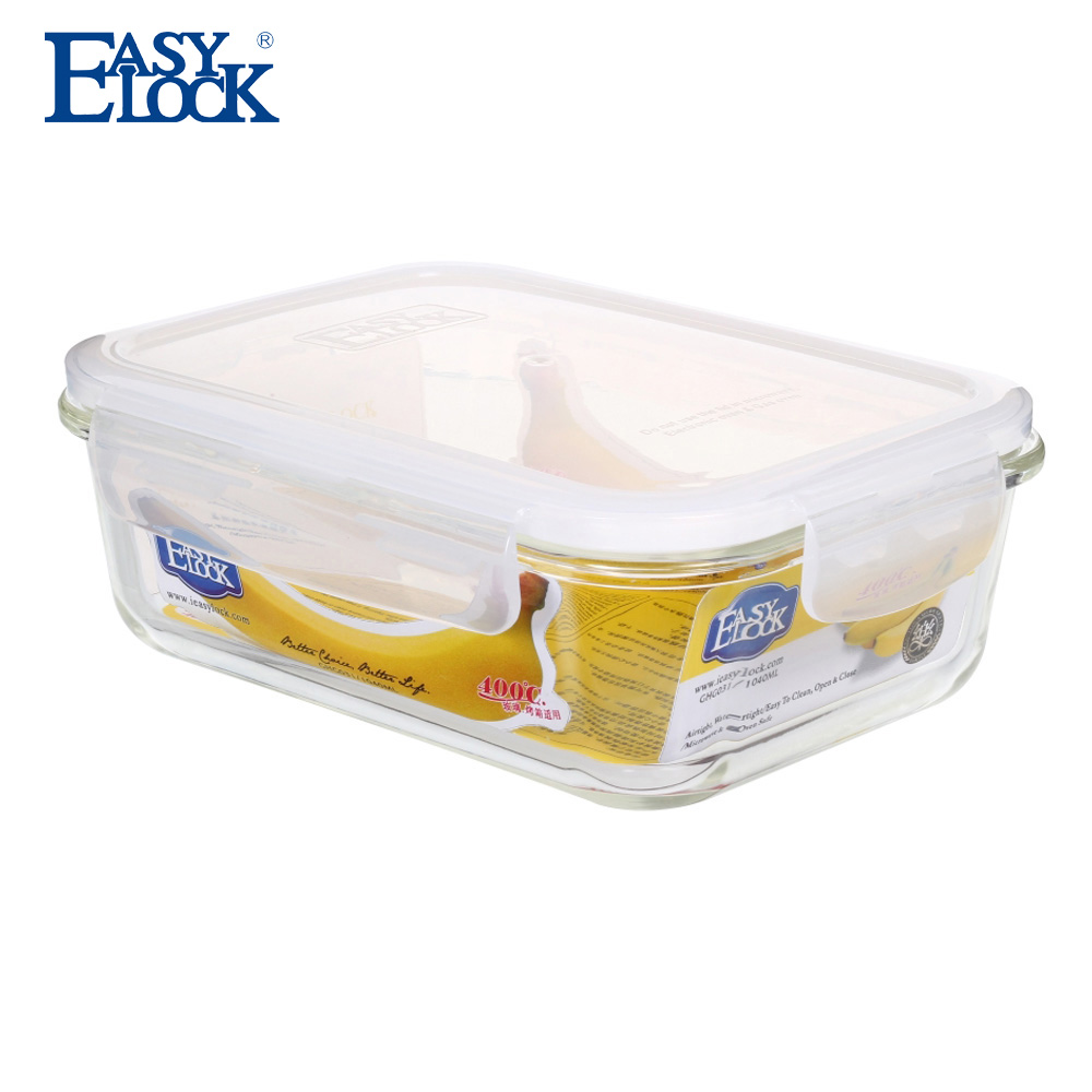 reheatable insulated thermal hot airtight glass food container