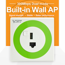 300Mbps Wall Wireless Router for Hotel Rooms Embedded Router signal repeater wifi wall ap