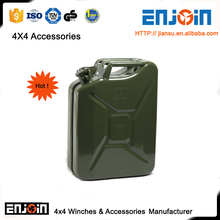 ENJOIN Off road dayanıklı ordu metal benzin jerry can 20l