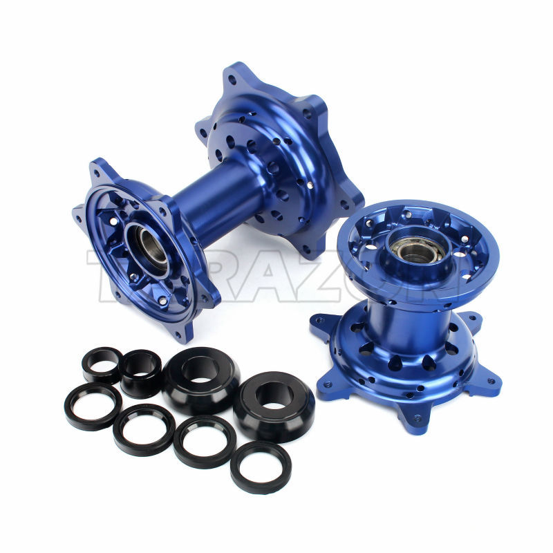 CNC Machining aluminum alloy motorcycle spoke wheel hub for Yamaha 450