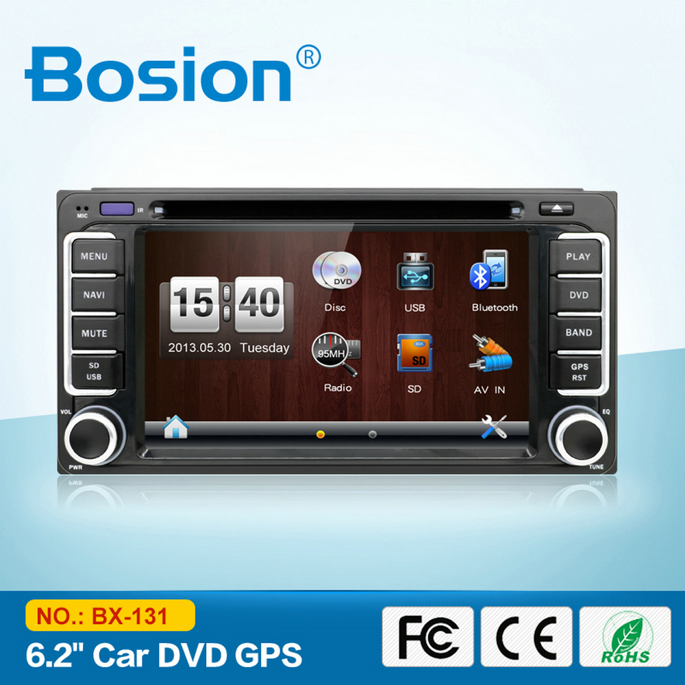 6.2inch Auto Car DVD Player for Corolla 2005 Toyota Prius with GPS Navigation 3G Wifi