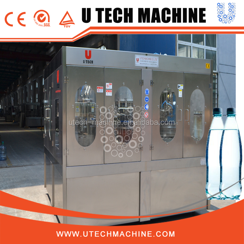 High degree of professional mineral water filling process/complete mineral water production line