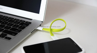 Portable flexible and Magnetic 22 cm Micro USB Cable for charging