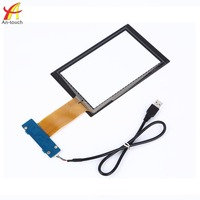 Best price 7 inch smart pad tablet replacement touch screen with 10 point glass panel