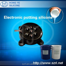 Silicone Potting and Encapsulation of Electronic Components and Circuit Modules