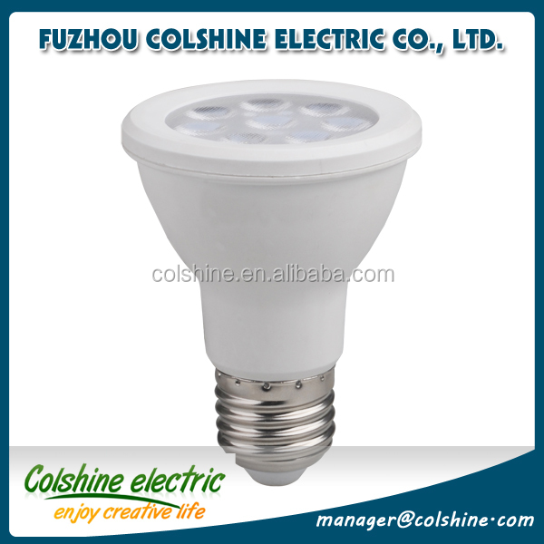 High quality CE LVD RoHS certified 8W 10w 12W 18W e27 cool white par LED spotlight bulb from China supplier Colshine
