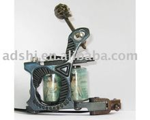 professional handmade cast iron frame copper wire 8wrap coils liner tattoo machine gun