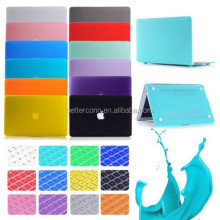 Rubberized Surface Matte hard Case Crystal Glossy Cover Keyboard Cover For Macbook Air 11 13 Pro 13 15 inch Retina A1425
