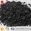 Black epdm rubber granules for plastic track or basketball football