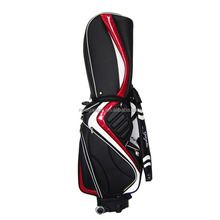 2017 Custom PU Leather Golf Stand Bag