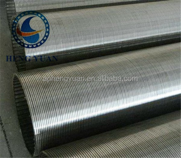 sand control water and oile well wedge wire screen ,stainless steel mesh filters,Johnson screen from China