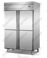 stainless steel deep freezer with 1360L