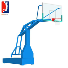 factory made imitation hydraulic press machine for basketball hoop with glass backboard and rim