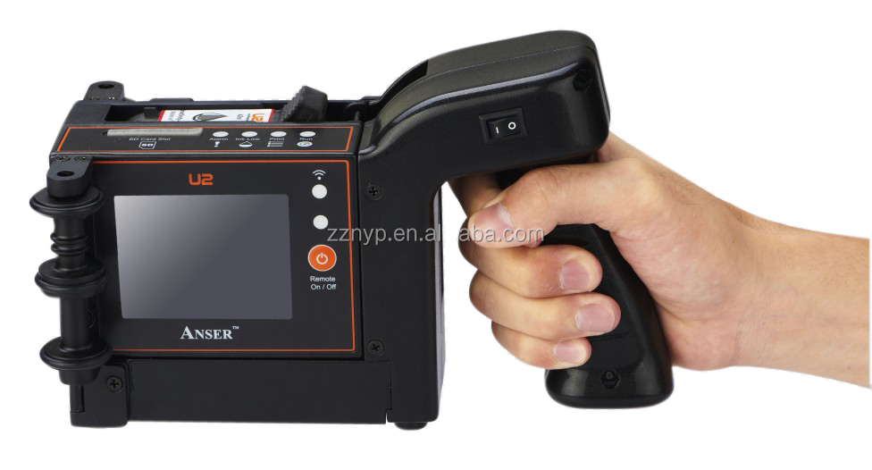 Computer control popular selling U2 handheld Inkjet Printer with best price