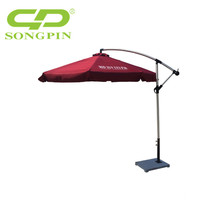 Custom logo printing Outdoor patio parasol umbrellas for beer promotion