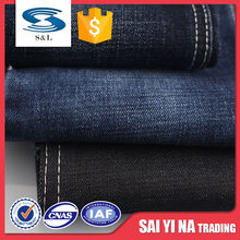 B83 Wholesale 100 Cotton 81*58 Density Denim Jean Clothing Fabric Material For Pant