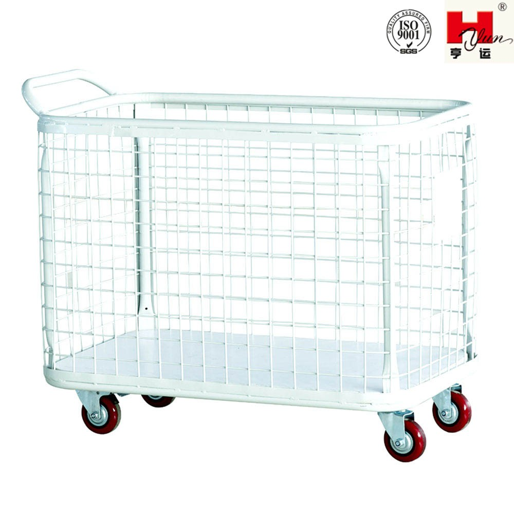 Industrial Wire Transport Cart with Handle
