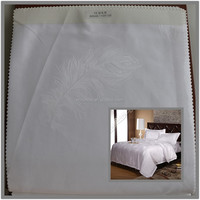 100 combed cotton hotel bedding fabric 60sx40s 300T