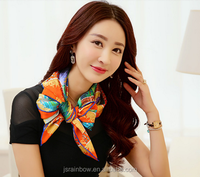 New Style Digital printing 100% silk chiffon kerchief
