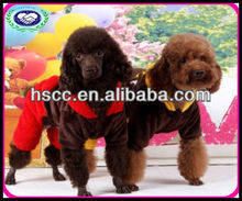 Bear shaped pet grooming apparel for dog