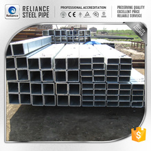 ASTM A500 GRADE B RECTANGULAR TUBE AS GALVANIZED STEEL CHAIN LINK FENCE