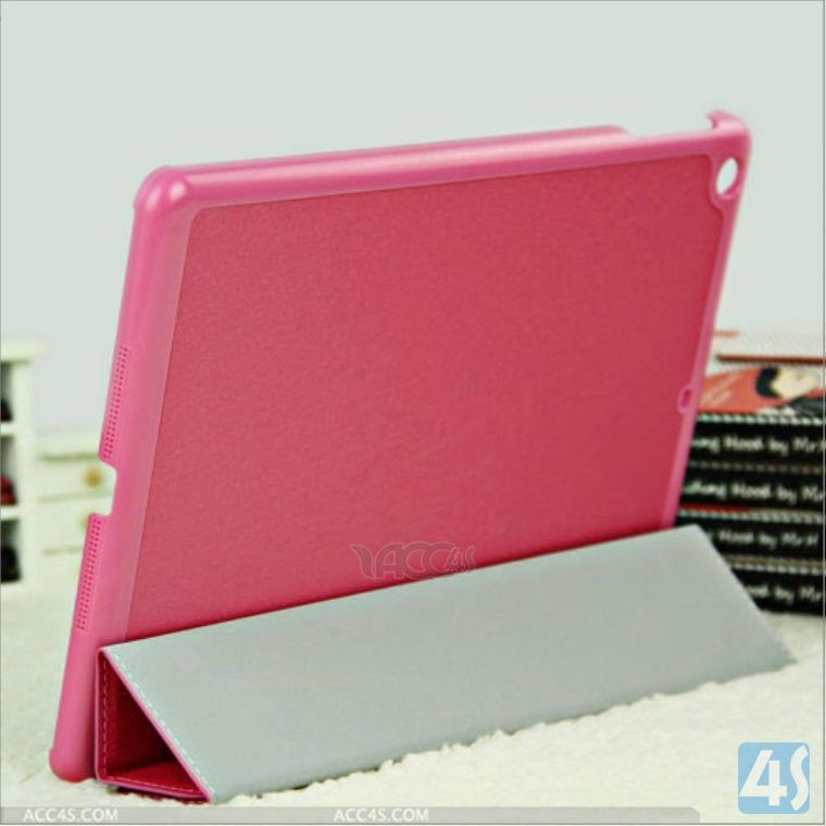 Magnetic luxury leather smart cover case for ipad 2,3,4 P-iPAD234CASE102