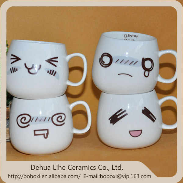 2015 good quality new animal head ceramic mugs
