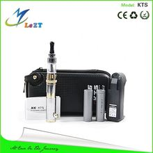 Changeable length telescopic E cig 2000mah KTS 18650 battery mod with portable USB charger and X8 tank