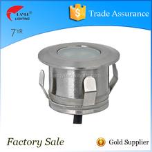LY4001A Street and Garden and path and tunnel IP67 stainless steel die casting recessed led inground light Max0.6w and Max 3w