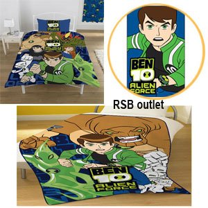 Ben 10 Duvet Covers Bedding Bedroom Items