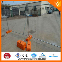 China supplier export & wholesale used portable australia temporary fence with low price