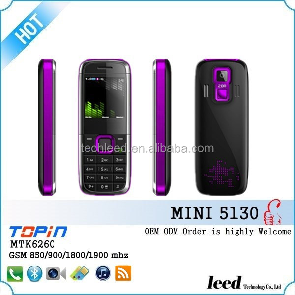 small christmas gift good quality whatsapp 6 colors active dual sim made in china mobile phone mini 5130